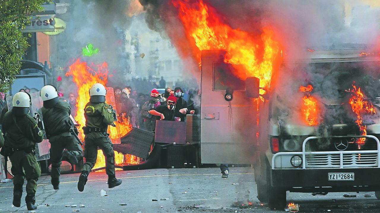Ces dix dernières années ont été ponctuées de manifestations de Grecs mécontents de l'austérité