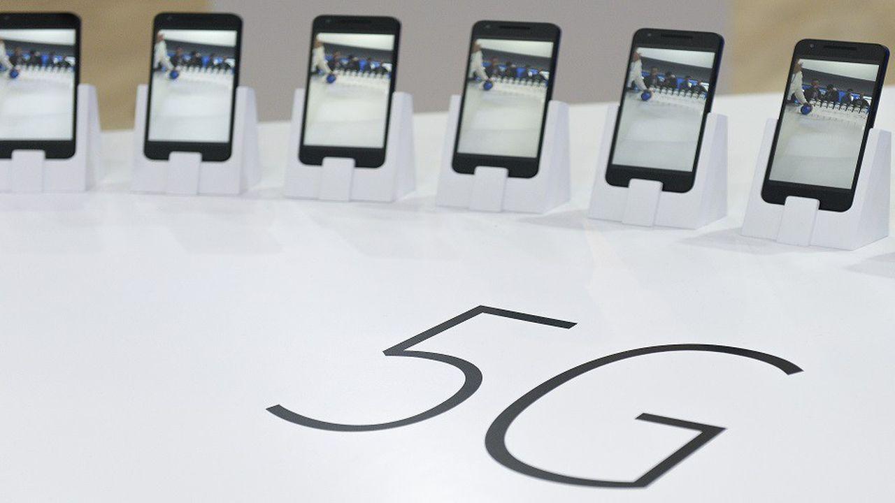 La course entre les équipementiers fait rage aux Etats-Unis pour savoir qui développera le premier smartphone compatible avec la 5G.