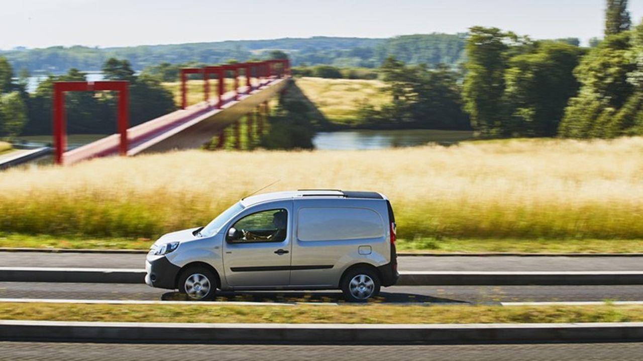 La version électrique de la Renault Kangoo a représenté 9,2% des ventes de ce modèle.