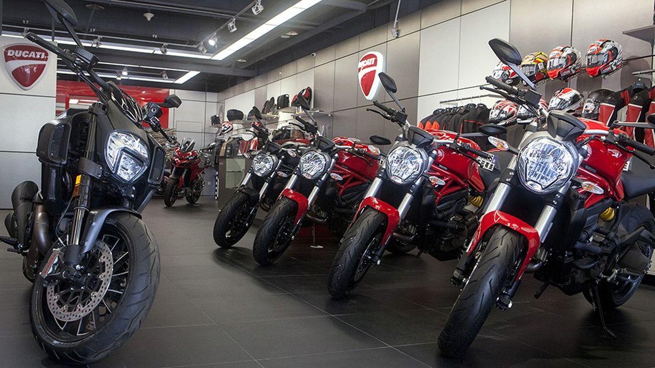 La valeur des motos Ducati avoisinerait les 1,5milliard d'euros.