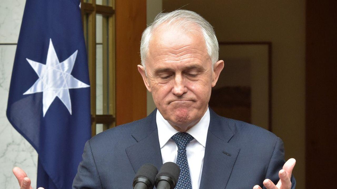Malcolm Turnbull avait lui même renversé son prédécesseur en 2015