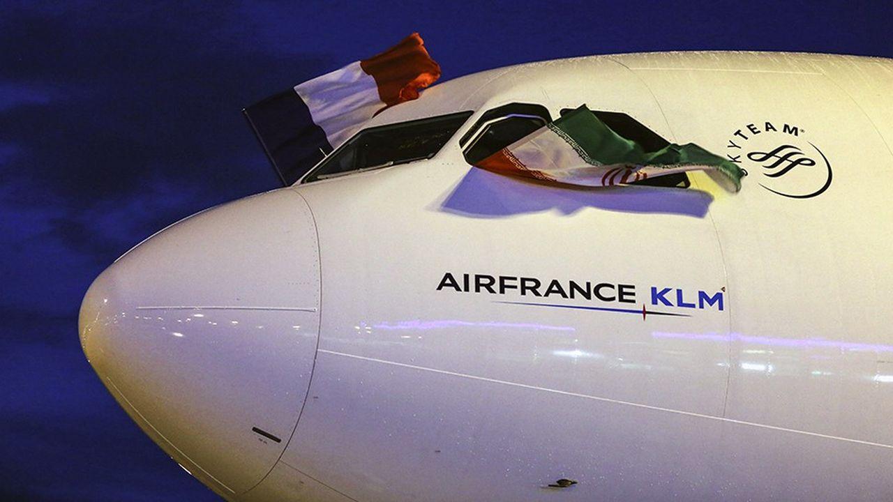 Air France avait repris ses vols vers Téhéran en avril2016.