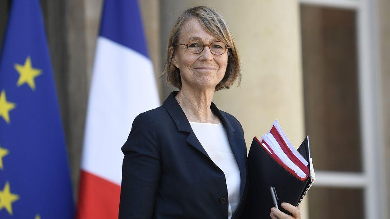 La ministre de la Culture, Françoise Nyssen, en avril2018.