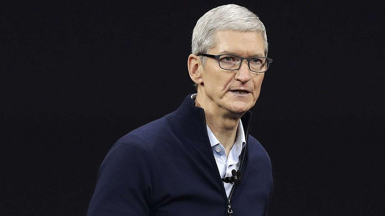 Sous la direction de Tim Cook, Apple aura été la première entreprise à atteindre la barre des 1.000 milliards de capitalisation en Bourse.