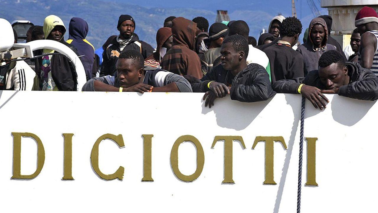 Suite à l'affaire du Diciotti, le gouvernement italien a menacé de bloquer les négociations sur l'avenir du budget européen.