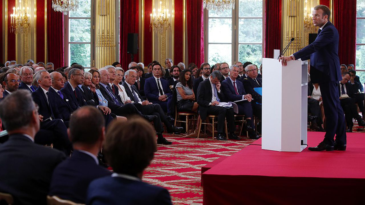 Devant quelque 250 diplomates français et des ministres de son gouvernement, Emmanuel Macron a exposé, lundi à l'Elysée, les grandes lignes de sa vision stratégique sur la scène internationale.
