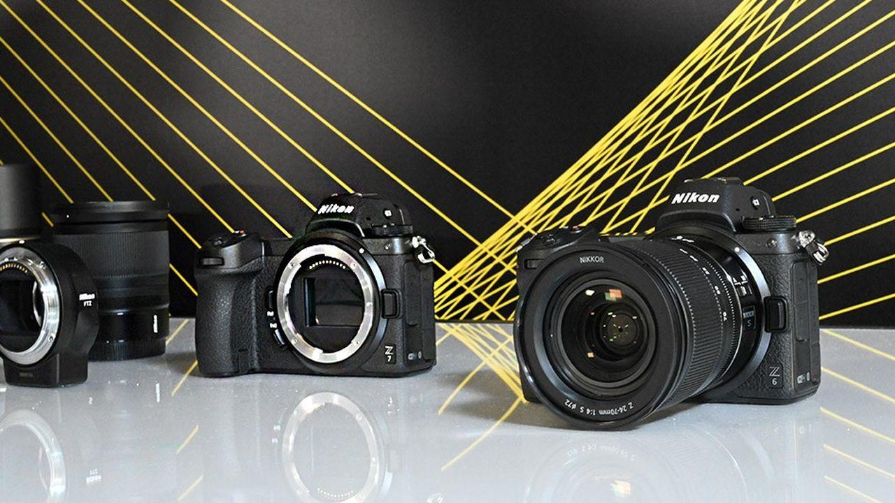 Nikon a levé le voile sur les très attendus Z6 et Z7, deux modèles associant la technologie de visée électronique des compacts dans le corps d'un reflex.