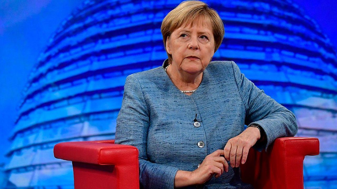 Angela Merkel s'est exprimé sur des thèmes de politique étrangère et politique intérieure lors d'une interview donnée à la chaîne de télévision publique allemande ARD.