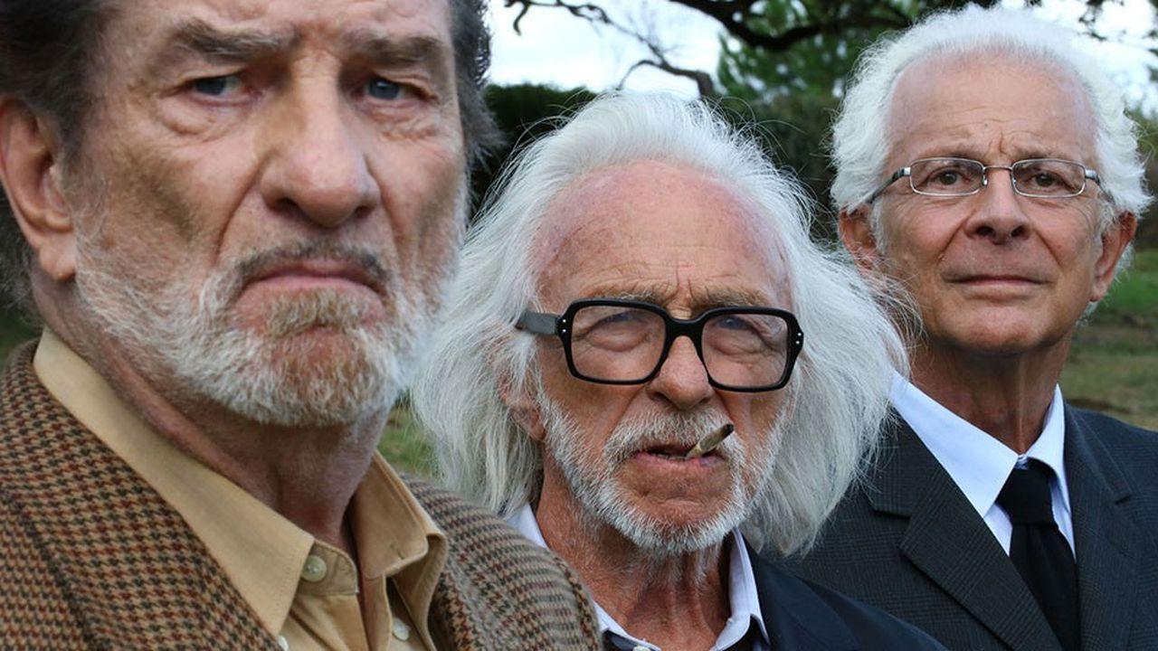 L'adaptation de la bande dessinée «Les vieux fourneaux», avec Eddy Mitchell et Pierre Richard, cumule plus de 337.000 entrées pour sa seconde semaine d'exploitation.