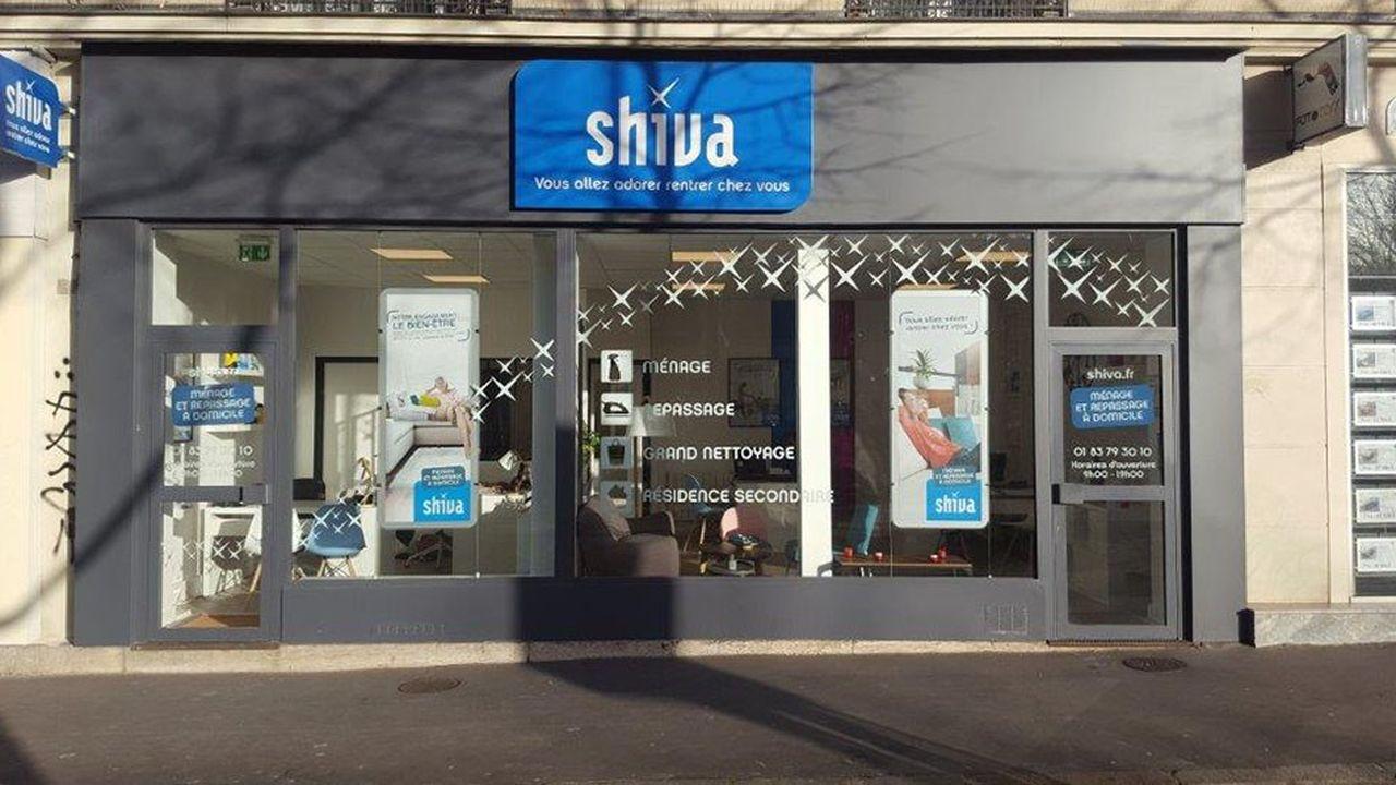 L'enseigne Shiva, créée en 2002, a ouvert 80 nouvelles agences en un an.