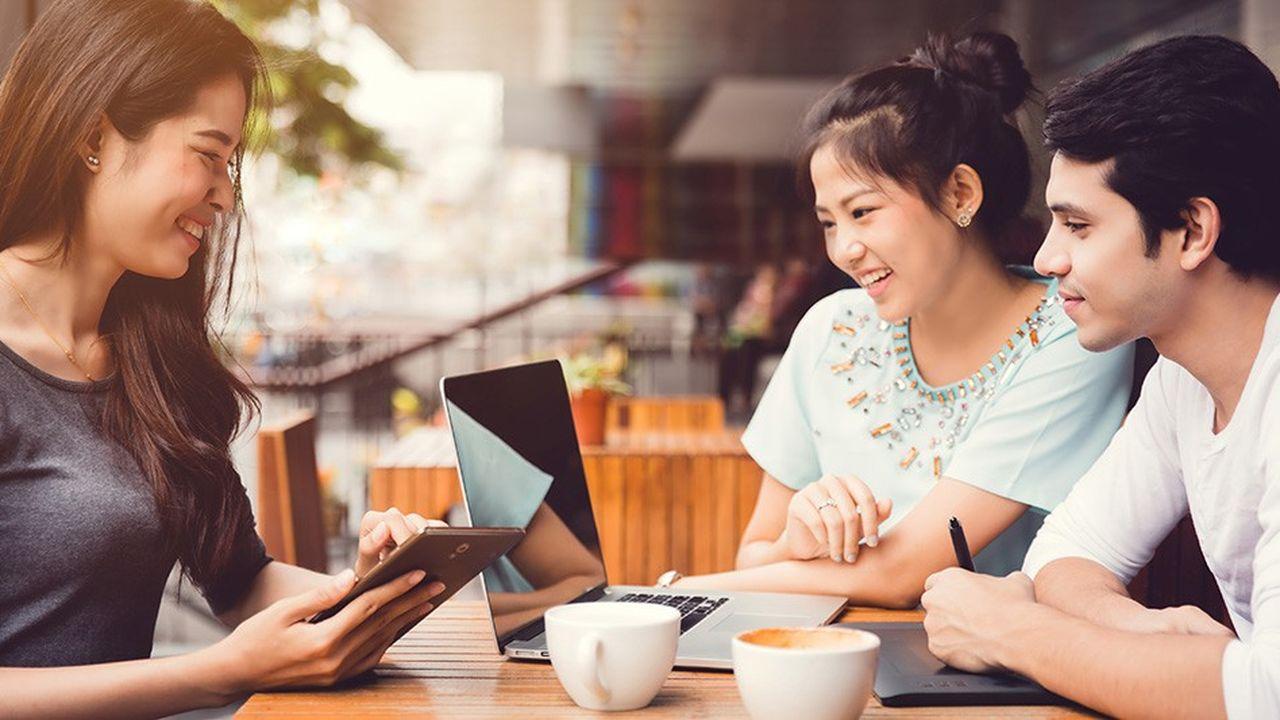 Les Coréens boivent en moyenne 512 tasses de café par an.