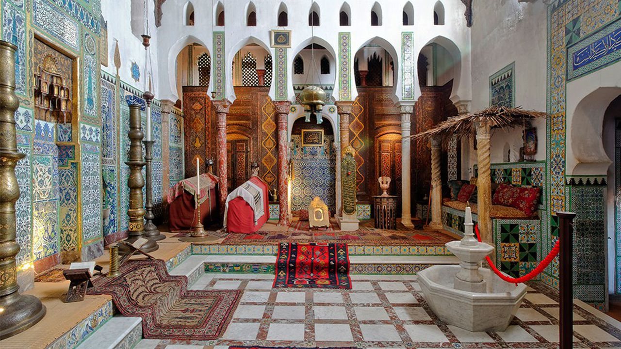 La «mosquée» est l'un des joyaux de la maison