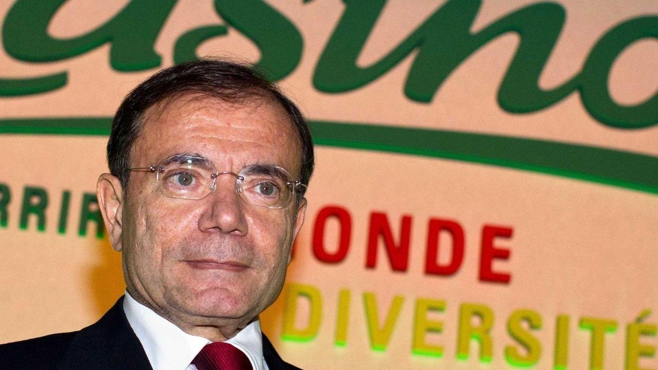 Depuis le début de l'année Casino, dirigé par Jean-Charles Naouri, a perdu en Bourse 46% de sa valeur.