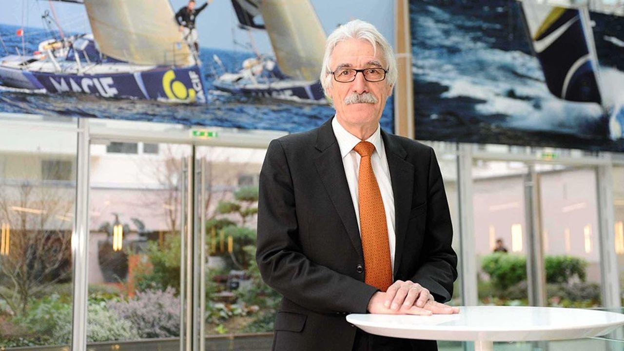 Gérard Andreck a présidé la Macif de 2006 à 2014, après en avoir été le directeur général.