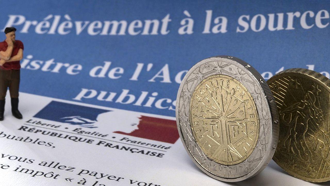 La réforme du prélèvement à la source, lancée par François Hollande, consiste à prélever les impôts directement sur les salaires et les pensions.