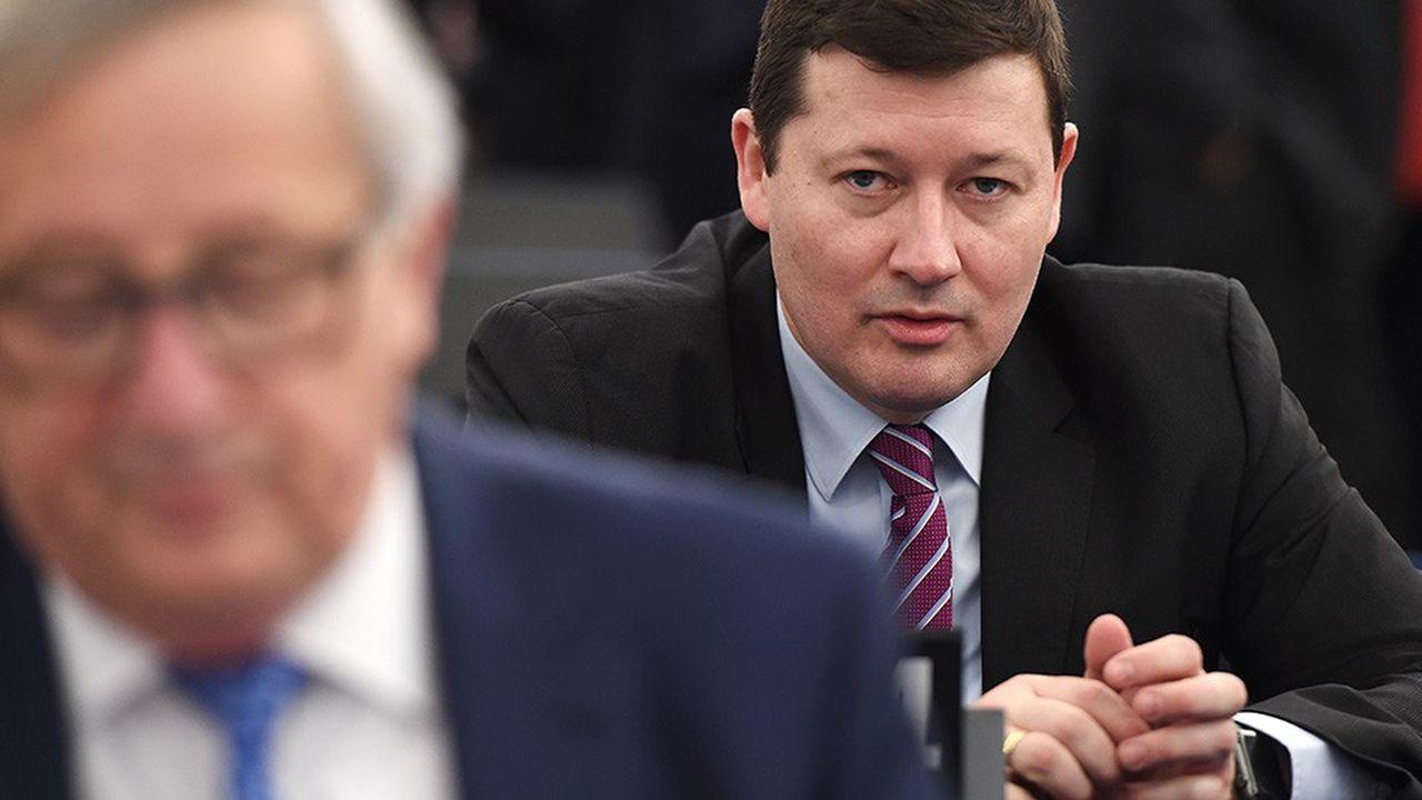 Martin Selmayr, l'Allemand soupçonné d'être derrière les grands choix politiques de Jean-Claude Juncker.