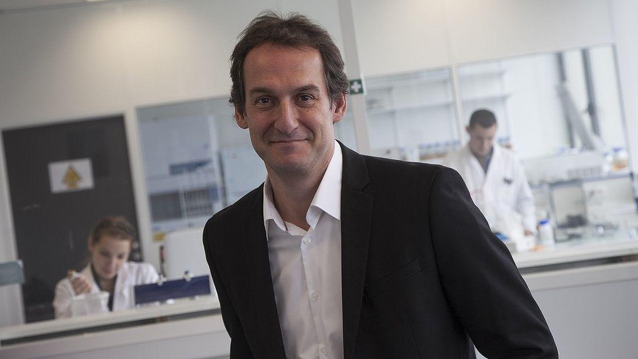 Marc Lemonnier, le président d'Antabio.