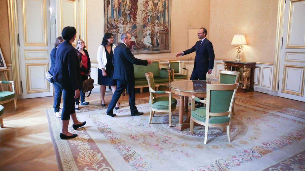 Laurent Berger, secrétaire général de la CFDT, a été reçu ce mardi par le Premier ministre, Edouard Philippe, dans le cadre des bilatérales de ce dernier avec les partenaires sociaux.