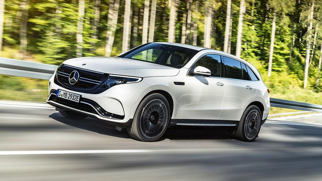 Le nouveau SUV 100% électrique de Mercedes sera disponible au début de l'été 2019.