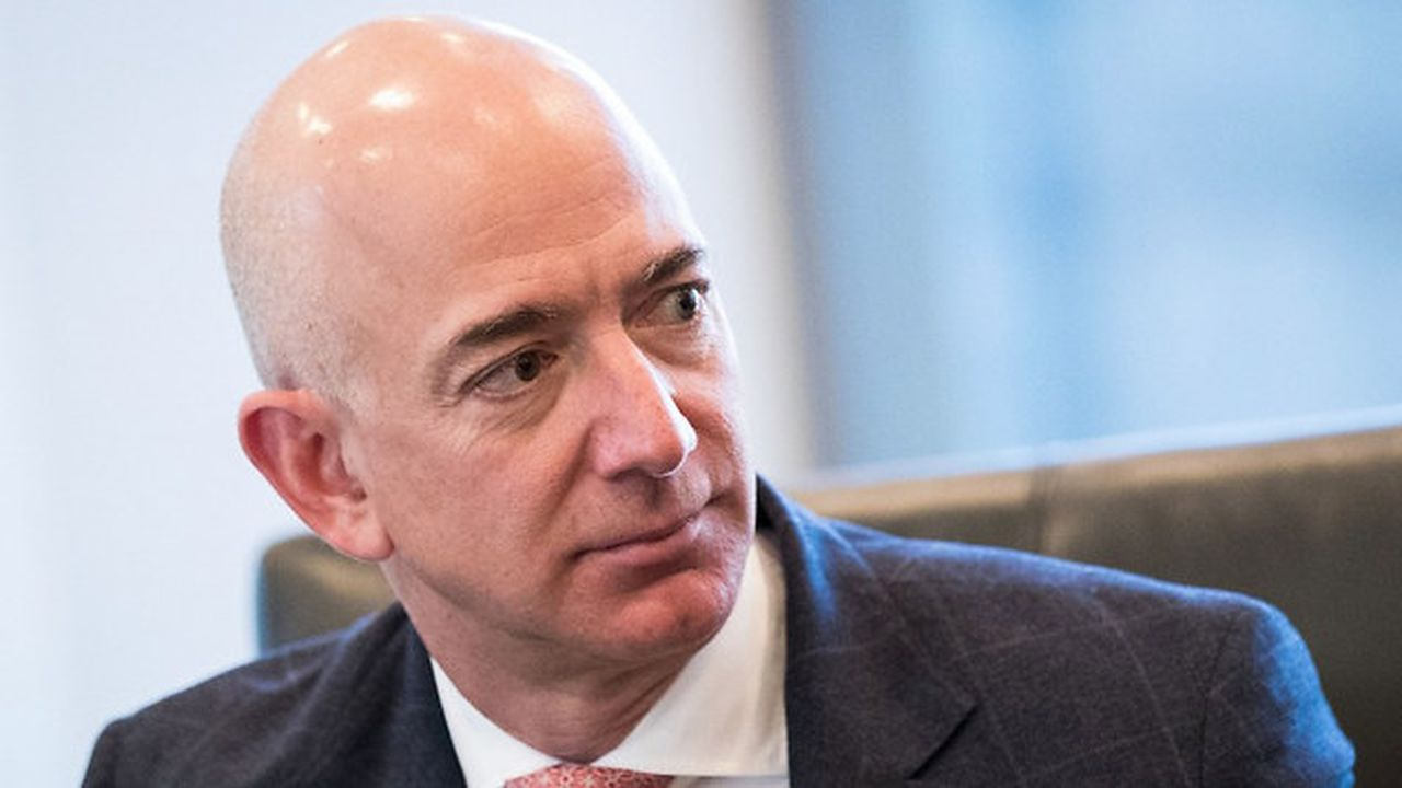 Jeff Bezos, patron d'Amazon, a déjà 67milliards de dollars gagnés en 2018