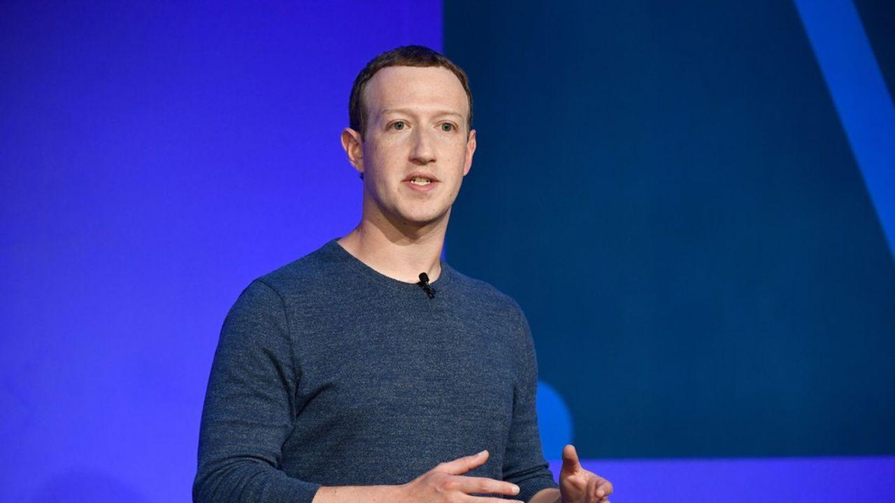Mark Zuckerberg à Paris, le 23mai 2018
