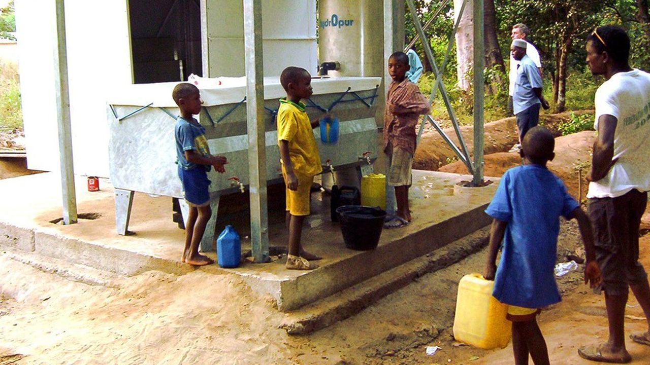Vergnet Hydro potabilise les eaux de surface en Guinée