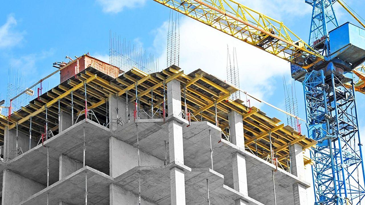 Malgré les grues dans les villes, le nombre de chantiers baissera en 2019.