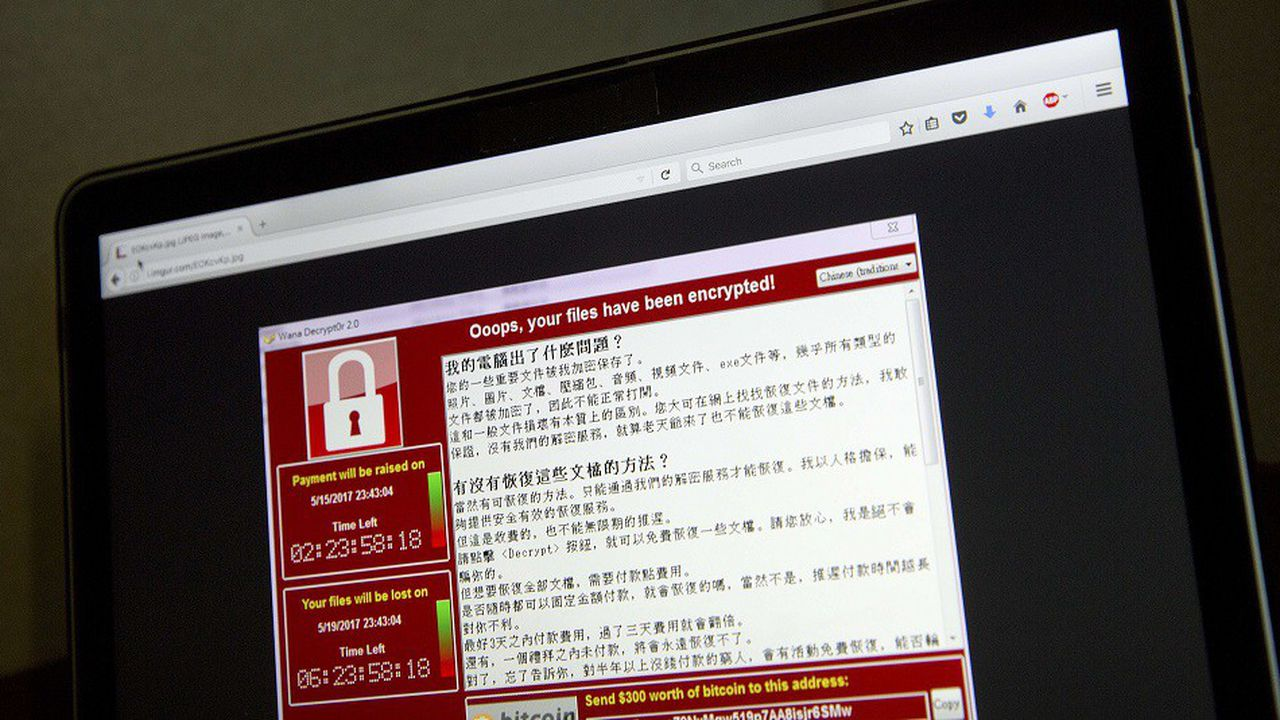 En 2017, l'attaque WannaCry a infecté les ordinateurs de centaines de milliers d'entreprises et d'institutions dans 150 pays.
