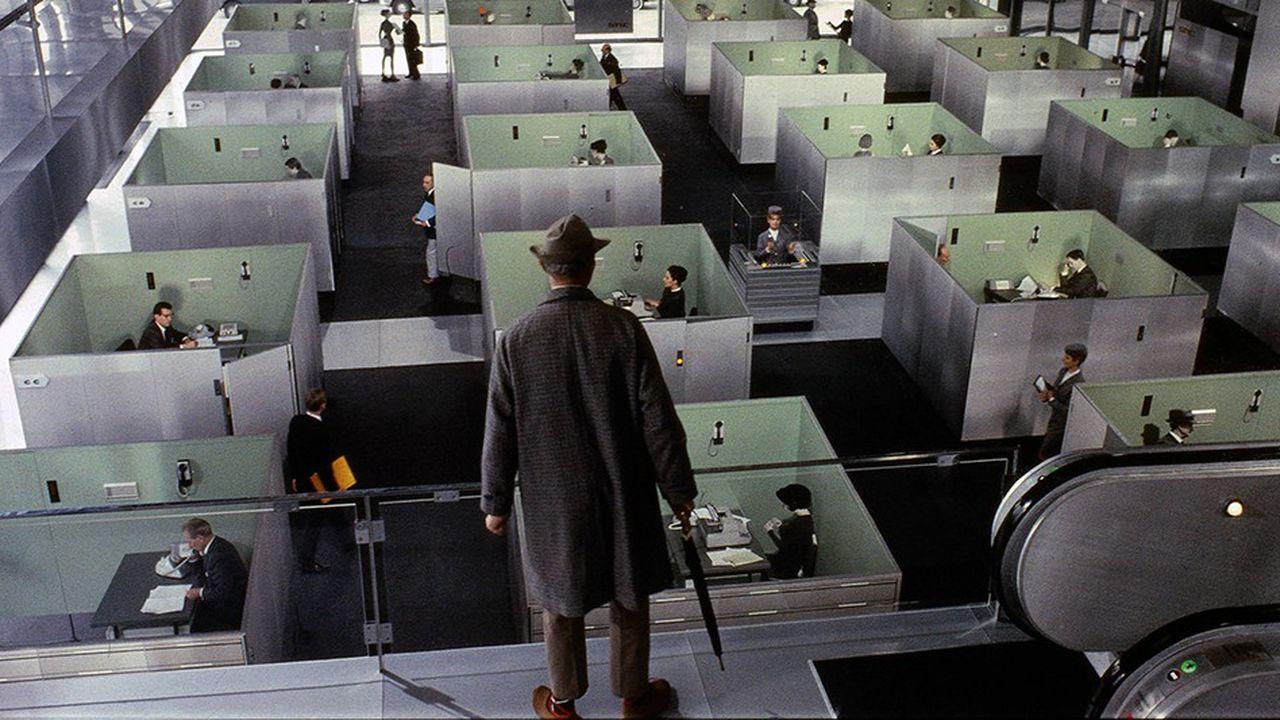 La vie de bureau vue par Jacques Tati dans «PlayTime» (1967).