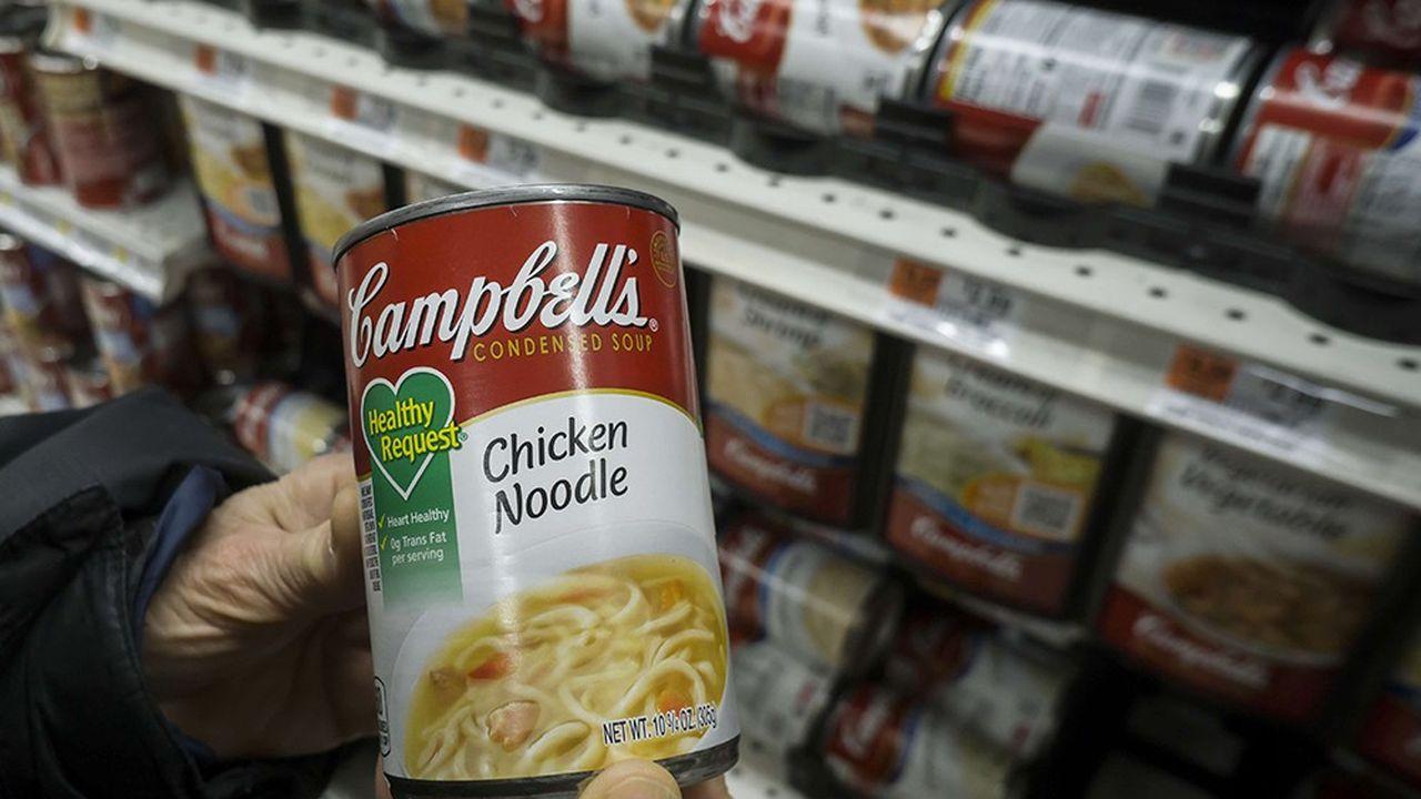 Campbell Soup a annoncé le 31août son intention de céder ses activités à l'international et sa division de produits frais.