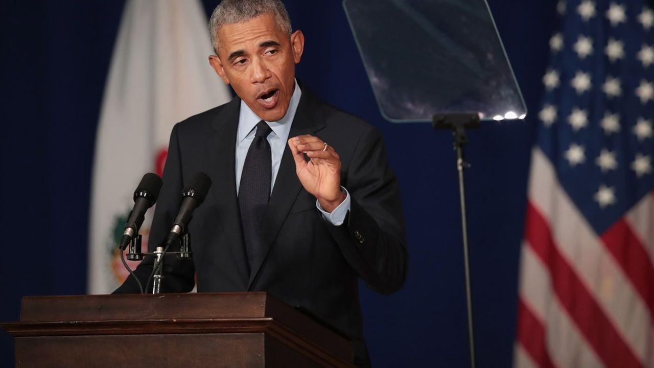 «Dans deux mois, nous aurons la chance de redonner un tant soit peu de raison à notre politique», a lancé Barack Obama.
