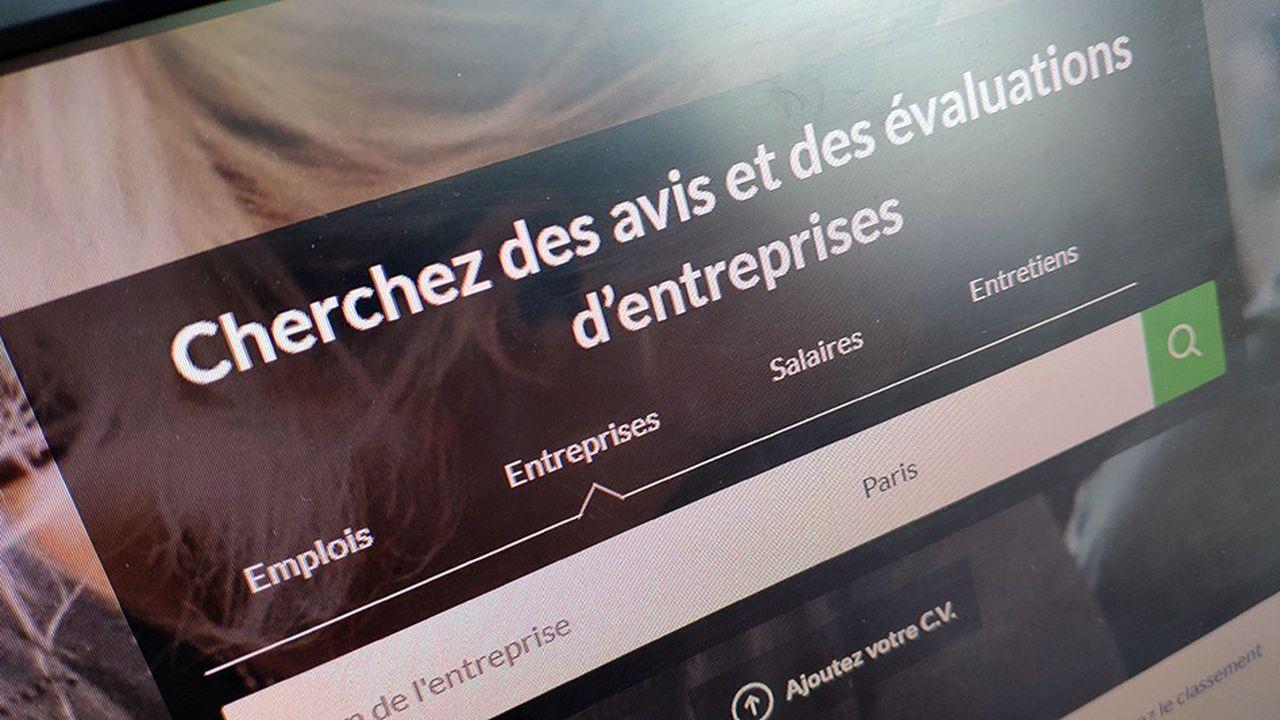 Le site Glassdoor permet aux salariés de noter leur entreprise et d'y laisser un avis.