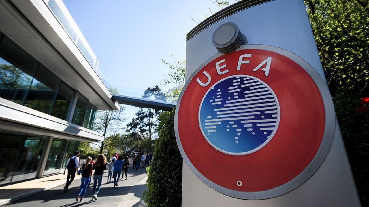 Le siège de l'UEFA, à Nyon, en avril2018