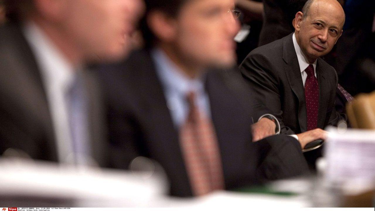 Lloyd Blankfein, qui a dirigé Goldman Sachs pendant 12 ans, cèdera les rênes de la banque le 1er octobre à David Solomon.