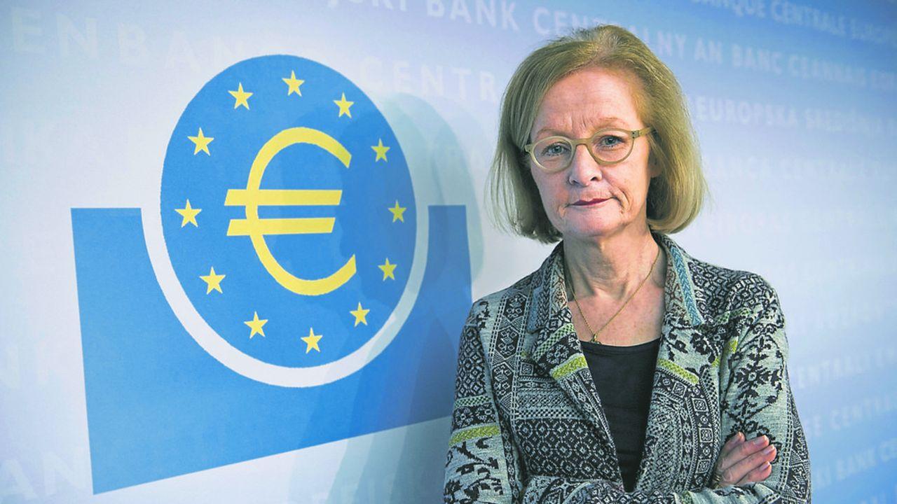 Danièle Nouy, présidente du conseil de supervision bancaire au sein de la BCE