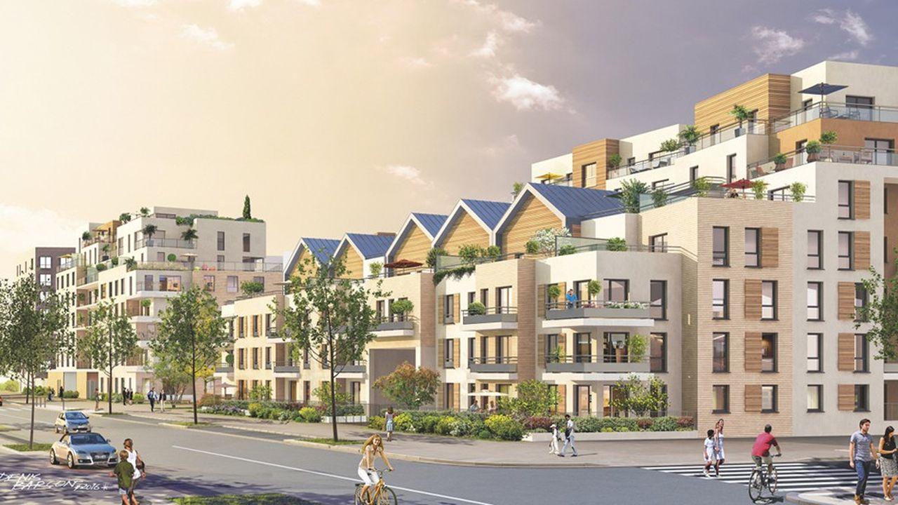 L'énorme chantier du futur écoquartier Rouget de Lisle, au coeur de Poissy, a enfin démarré.