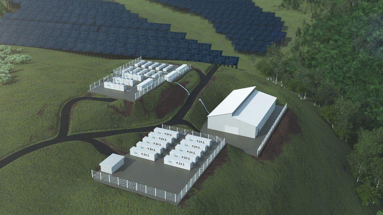 La centrale de HDF Energy sera installée près de Saint-Laurent-du-Maroni, au Nord-Ouest de la Guyane.