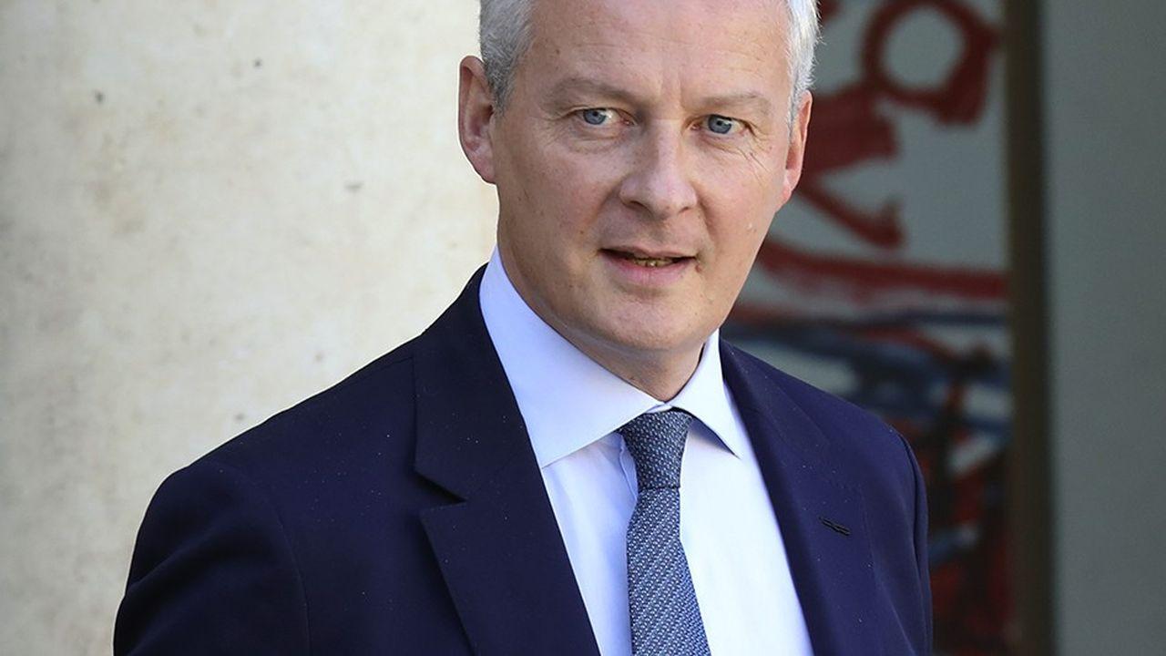Bruno Le Maire veut en finir avec les doublons entre régions et Etat pour l'accompagnement des entreprises.