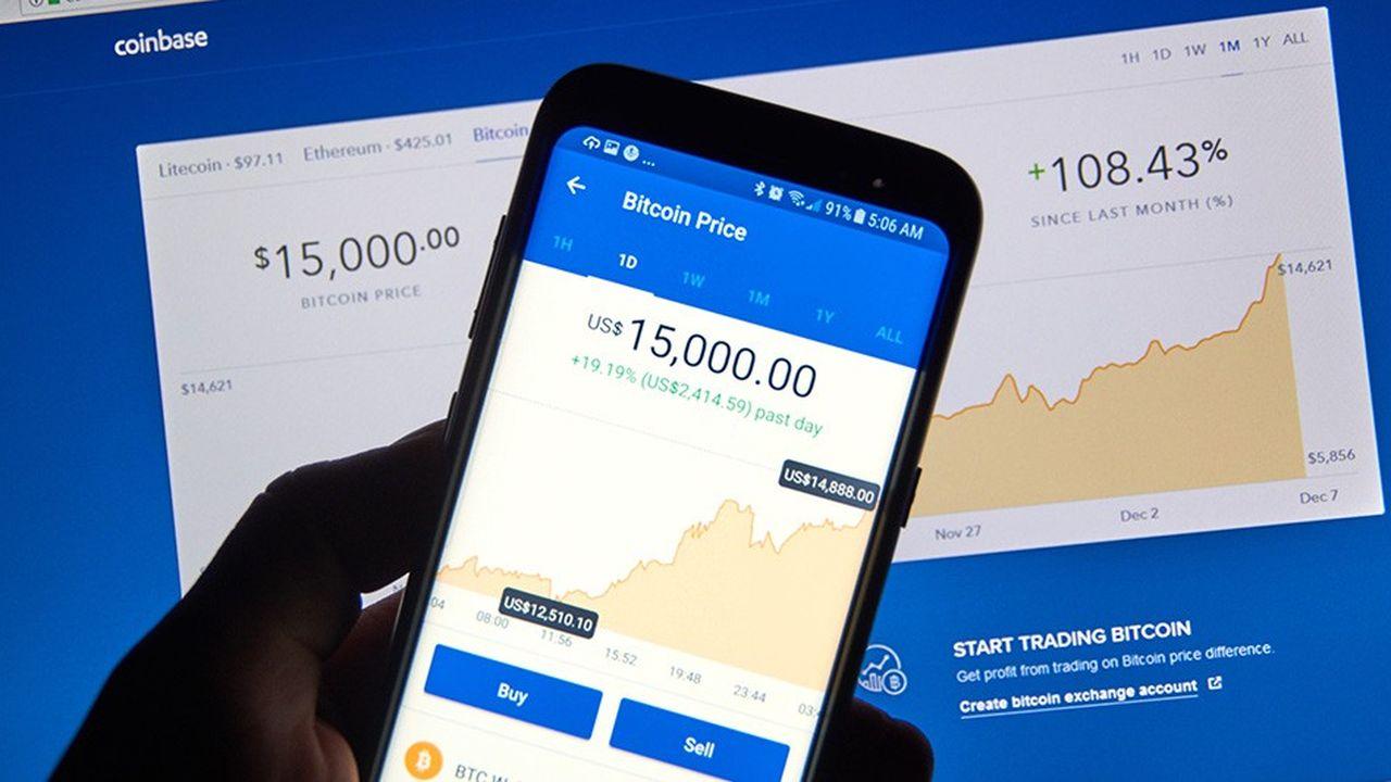Coinbase s'est imposé auprès des petits investisseurs, comme le chinois Binance, son grand rival.