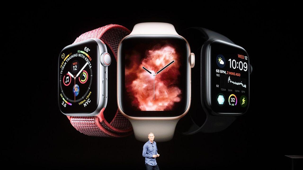 La nouvelle montre connectée sera commercialisée le 21 septembre, à partir de 429 euros.