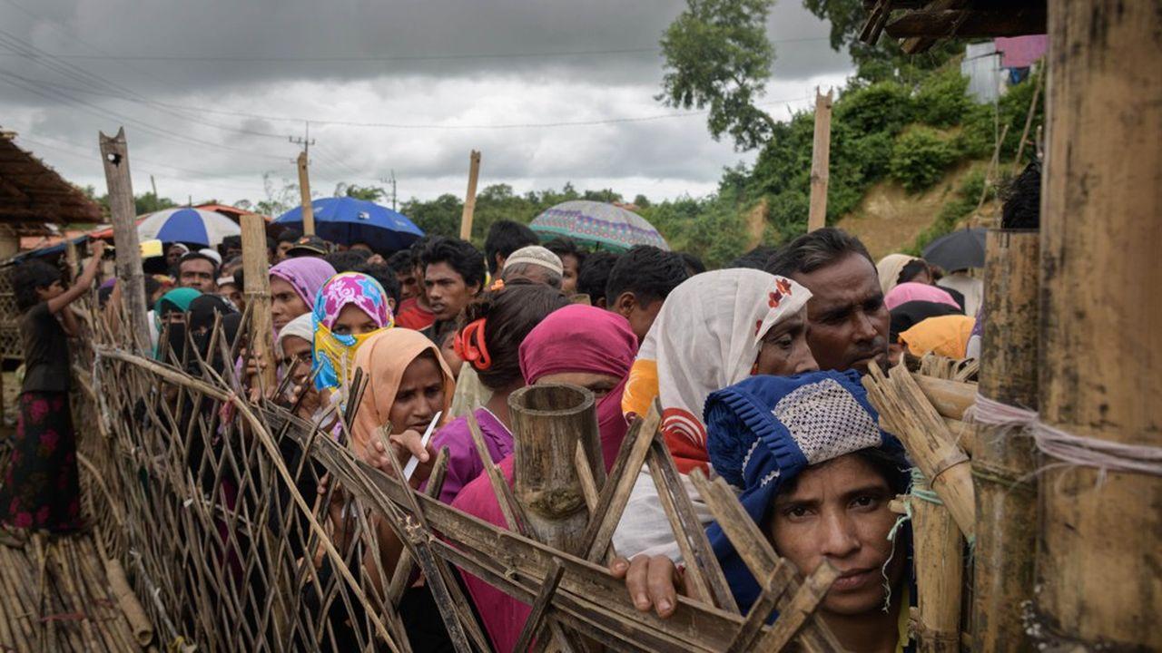 Depuis l'été 2017, environ 700.000 Rohingya ont fui leur pays pour se réfugier au Bangladesh
