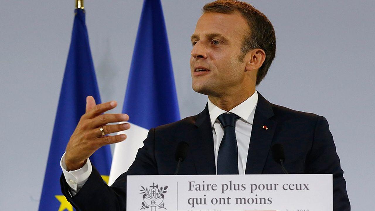 Emmanuel Macron a annoncé la création d'un revenu universel d'activité.