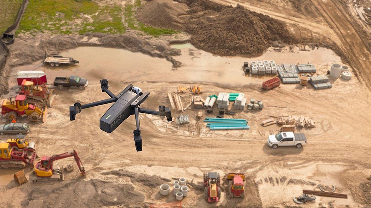 Drone Anafi pro de Parrot.
