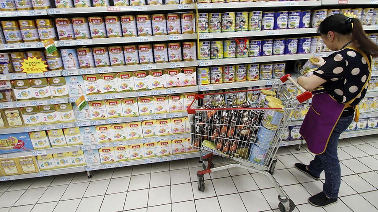 Le marché chinois du lait infantile est éminemment stratégique pour les groupes étrangers.