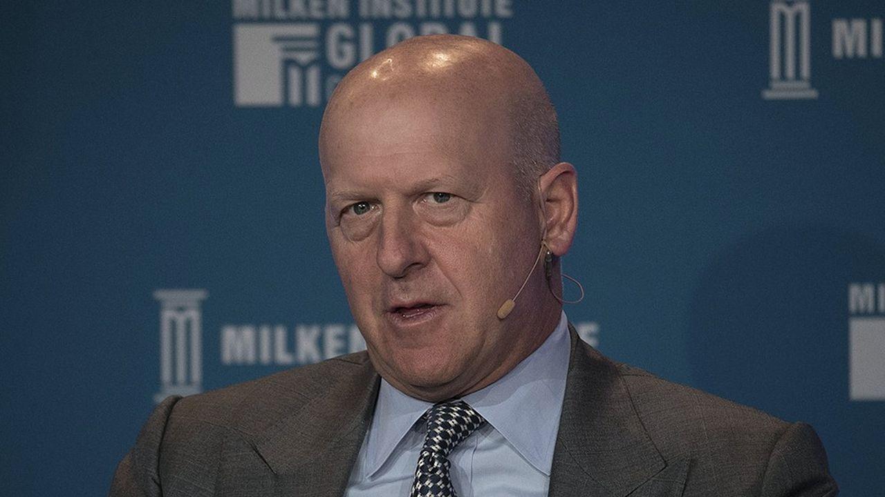 David Solomon a été nommé PDG en juillet en remplacement de Lloyd Blankfein.