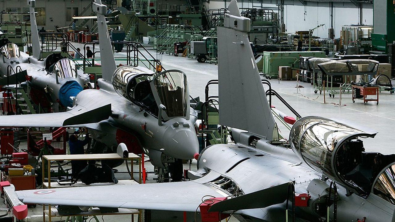 Les principales entreprises françaises de défense ont toutes des entités gouvernementales (françaises et européennes) présentes à leur capital.