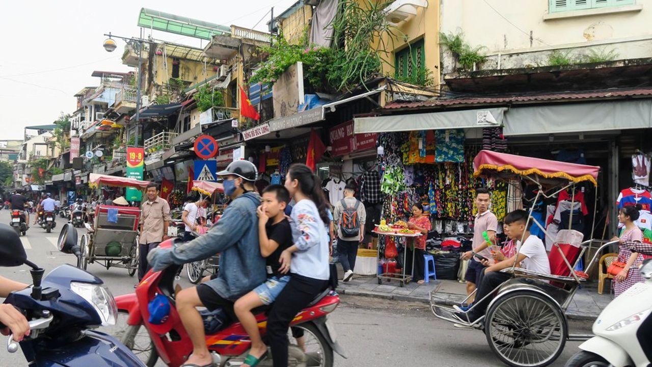 Le Vietnam réalise un tiers de ses échanges avec la Chine et a exporté l'an dernier pour 42milliards de dollars vers les Etats-Unis