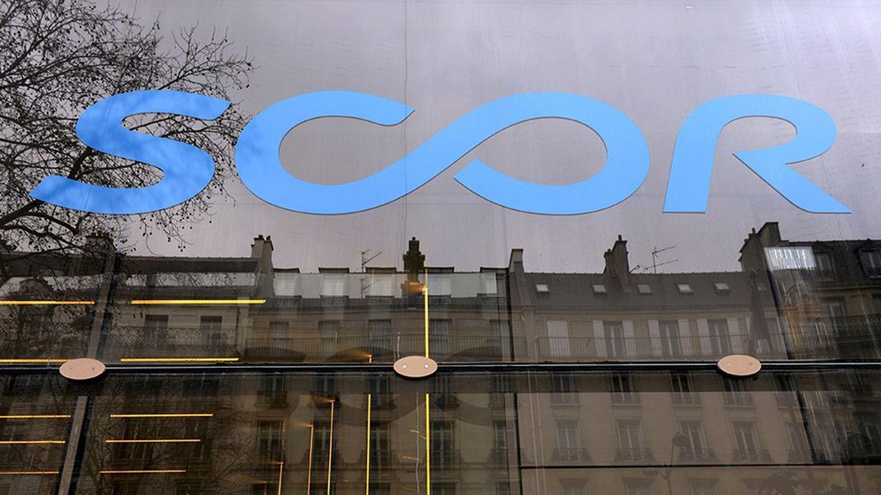 Nouveau siège social de Scor, groupe de réassurance, avenue Kleber à Paris.