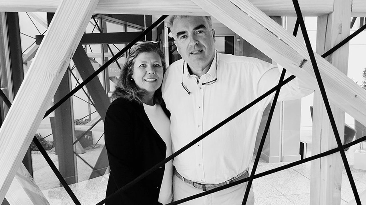 Christiane et Stéphane Varak, les deux fondateurs de Foamous.