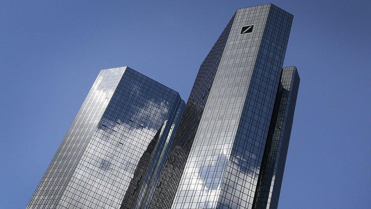 Deutsche Bank envisage de rapatrier les trois quarts de son bilan londonien à Francfort.